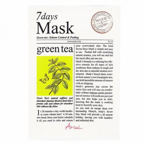 Ariul 7 days Mask - Green Tea