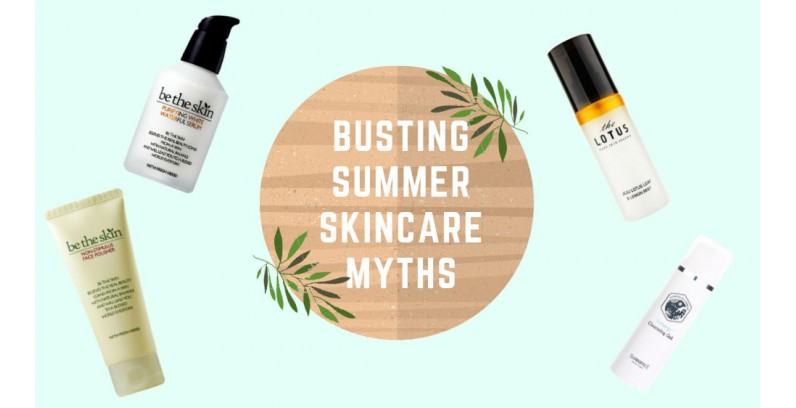 Busting summer skincare myths
