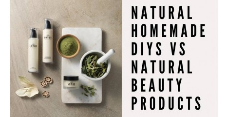 Natural Homemade DIYs Vs Natural Beauty Products?
