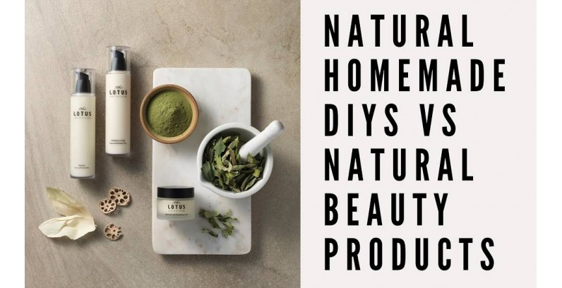 Natural Homemade DIYs Vs Natural Beauty Products?