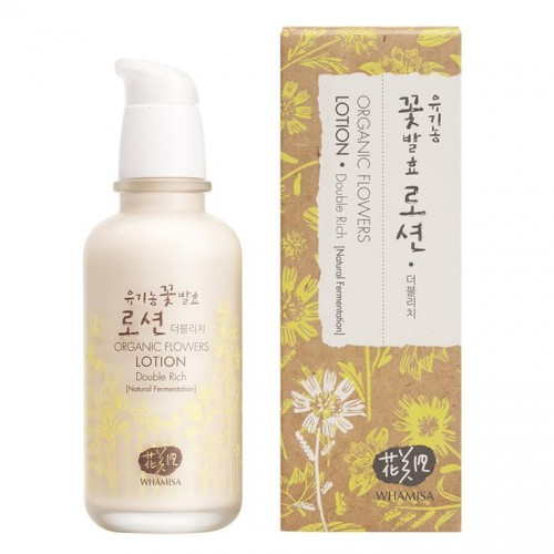 Whamisa Organic Flowers Lotion Double Rich (150ml)