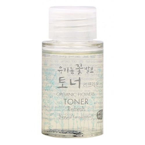 Glass Miniature Organic Flowers Toner Refresh (33.5ml)