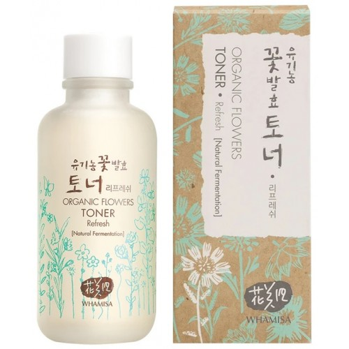 Whamisa Organic Flowers Toner Refresh (150ml)